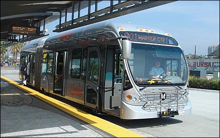 The Orange Line BRT in Los Angeles