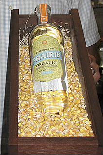 Prairie Vodka, made in Benson, Minn.