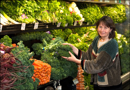 Julie Mares indicates that healthful foods are one piece of the prevention puzzle.