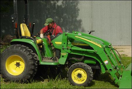 Jim Degiovanni raises organic produce on his 15-acre farm in St. Joseph, Minn., one of 58 organic farms in Stearns County.
