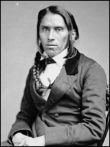 Chief Hole in the Day, 1858