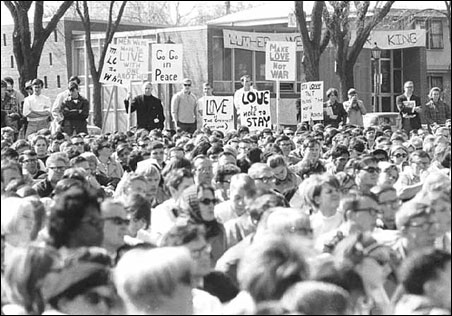 The 1967 Martin Luther King Jr. rally in St. Paul