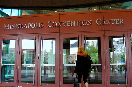 American Legion delegates are expected to spend as much as $22 million, thanks in part to Minneapolis' government-supported convention center.