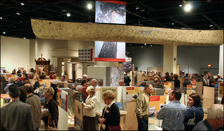MN 150 exhibition on opening night last fall at the Minnesota History Center.