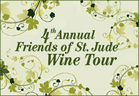 Fourth annual Friends of St. Jude Wine Tour