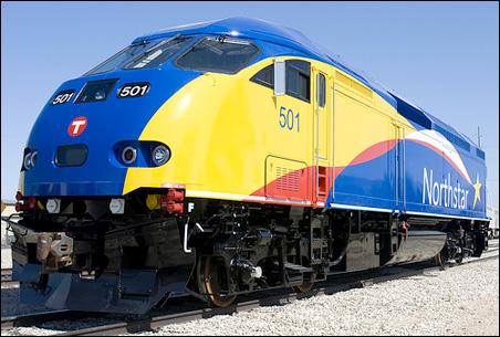 Northstar commuter train