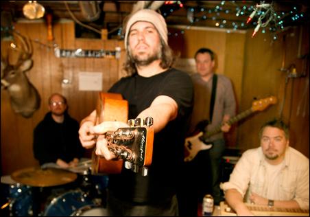 The Rockford Mules, from left: Joel Habedank, Erik Tasa, Craig Peck and Ryan Rud