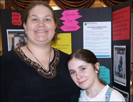 Marybeth and Freya Slocumb