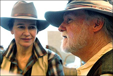 Louise Erdrich and Brian Baxter