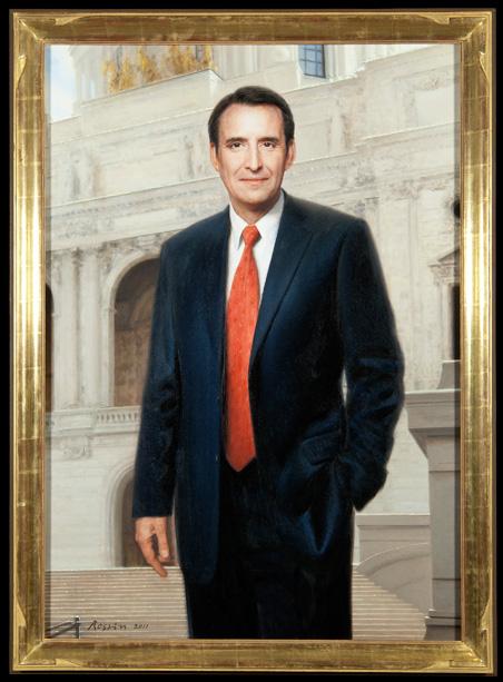 The official portrait of former Gov. Tim Pawlenty