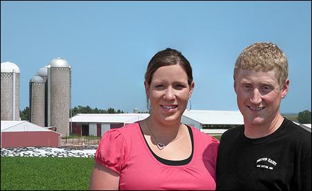 Tara and Nick Meyer of Meyer Dairy