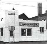 This White Castle restaurant, once located at 616 Washington Avenue S.E. in Minneapolis, may have been the source of hamburgers in McClendon's experiment.