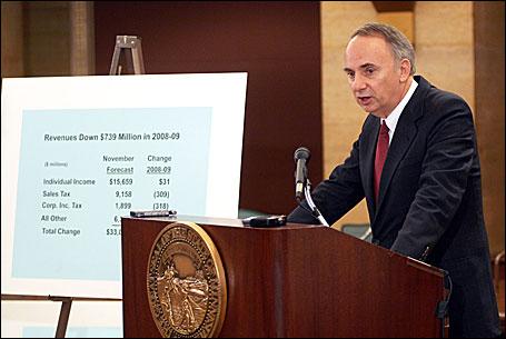 State economist Tom Stinson