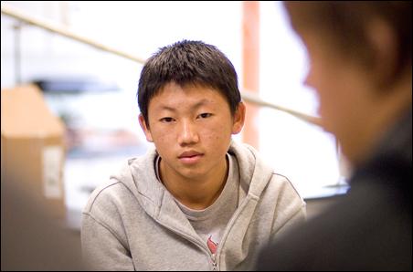 Hue Yang found success at Hopkins North Junior High School.