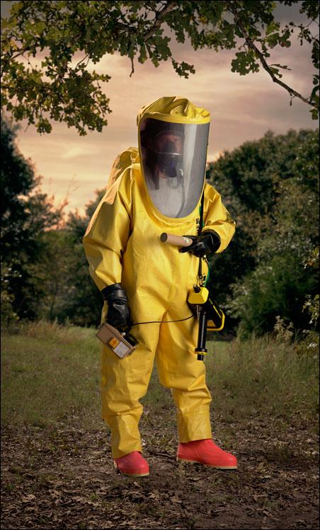 Level A Hazmat suit