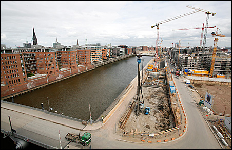 Rising on Hamburg's abandoned old harbor is the biggest development project of its kind in Europe.