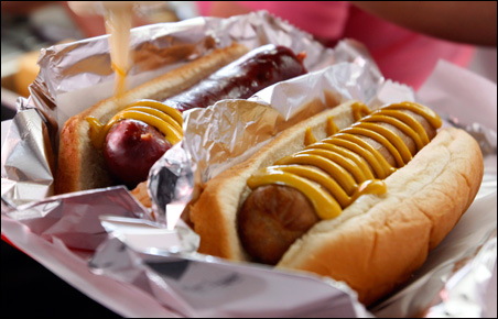 Hot dogs and brats!