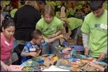 Free Arts Minnesota volunteers
