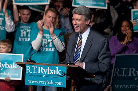 R.T. Rybak Dec. 6 campaign rally