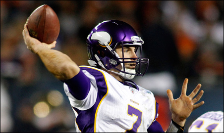 "Fran Tarkenton on Christian Ponder: ""He has to know who he is and the things he does best and what he can do."""