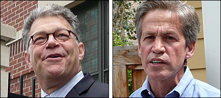 For both Al Franken and Norm Coleman, the long wait is finally over.