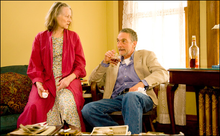 """Barbara Kingsley and Stephen D'Ambrose in """"August: Osage County"""" at Park Square Theater."""