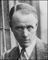 Sinclair Lewis pictured in Berlin in 1930 after winning the Nobel Prize for Literature.
