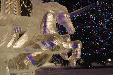 Night Ice by Tom Maloney