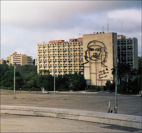 Che Guevara's image shows up more often than Fidel Castro's in Havana.
