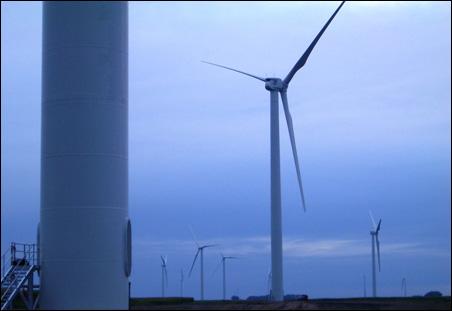 50 megawatt Jeffers community-owned wind project