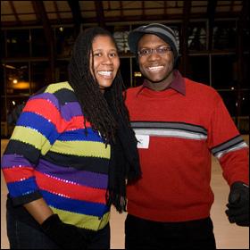 Yolanda Purdy and Amiri Brotherson