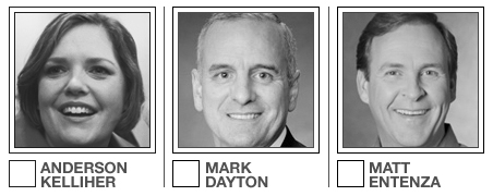 For the next month, the DFL's three gubernatorial 'fishers' will be angling for elusive primary votes