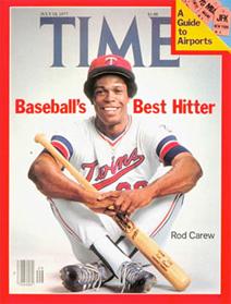 Rod Carew Time Magazine cover