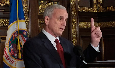 """Gov. Mark Dayton: """"We've all been clear -- this was the deadline."""""""