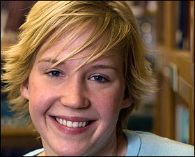 Ashley Nord is the University's newest Rhodes Scholar.