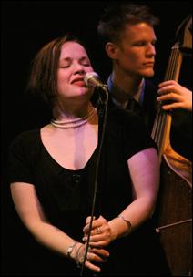 Christine Rosholt and Graydon Peterson