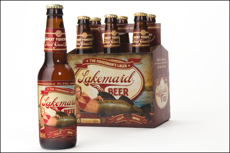 The idea behind Lakemaid was to develop a summer beer that would appeal to the fishing-and-cabin crowd, built around the myth of mermaid-like creatures inhabiting the lakes of Minnesota.