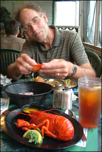Kevin Barnes enjoys his jazz -- and a little lobster now and then.