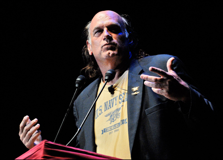 """Jesse Ventura at Ron Paul rally: """"Chanting and yelling isn't going to do it. I need action."""""""
