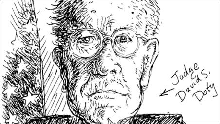 Sketch of Judge David S. Doty