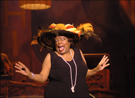 """Debbie Duncan steps into a theatrical role in """"Blues in the Night."""""""