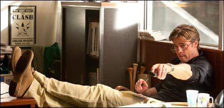 """Brad Pitt as Billy Beane in """"Moneyball."""""""