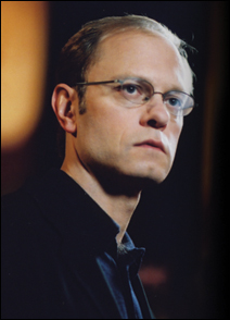 """David Hyde Pierce, host of """"The Forgetting."""""""