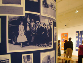 Early 20th-century photos on display in Cargill Hall