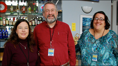 BWFF committee members Claire Duquette, David Siegler and Kristen Sandstrom.