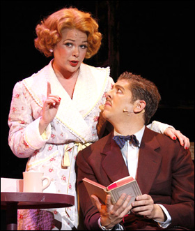 "illie Wildrick and Daniel C. Levine in ""Guys and ""Dolls"""