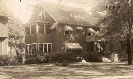 636 Elwood Ave. N. as seen from the street in 1930
