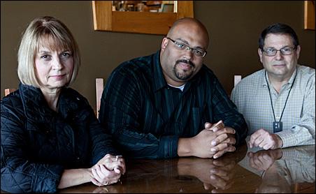 Carol Wegner, Walter Hudson and Randy Liebo are board members of the North Star Tea Party Patriots.