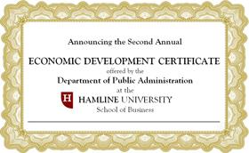 Economic Development Certificate Program