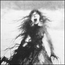 """Detail of an illustration by Stephen Gammell for """"Scary Stories to Tell in the Dark."""""""